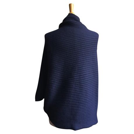 Anderson J J Anderson W Anderson Blau Sweater W Poncho Sweater W Blau Poncho J 0aqZXw