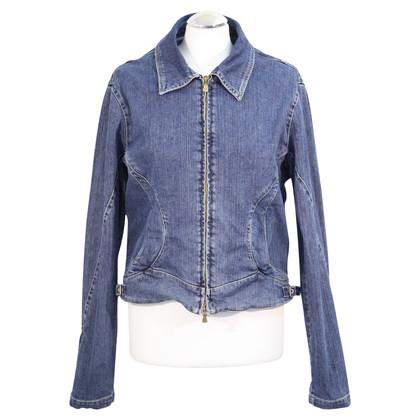 Versace Jeansjacke in Blau