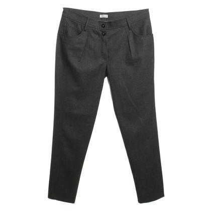 Brunello Cucinelli Pantaloni tuta in grigio