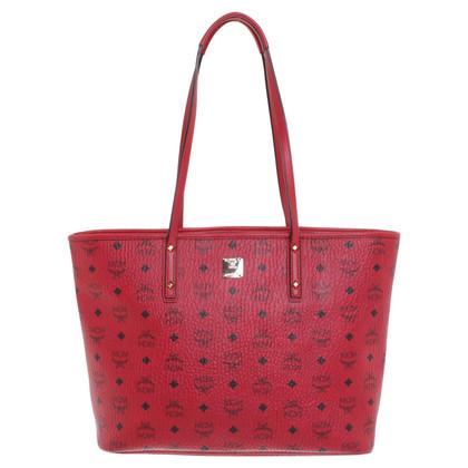 MCM Shoppers in het rood