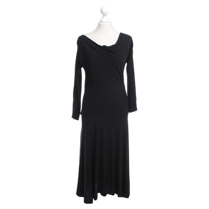 Halston Heritage Schwarzes Kleid