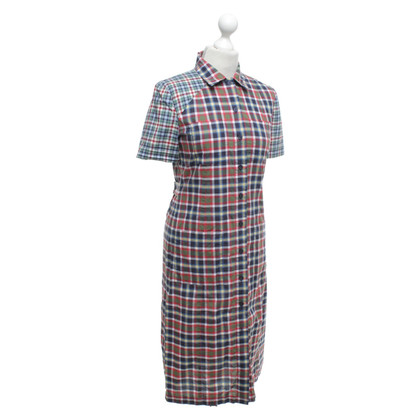 Victoria Beckham Dress with checked pattern