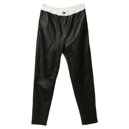 Alexander Wang Leather pants in black
