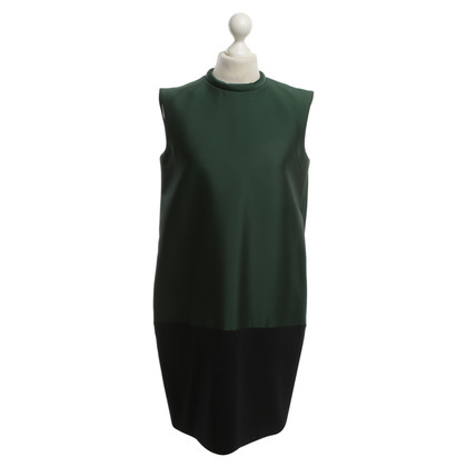 Céline Dress in green / blue