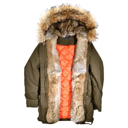 IQ Berlin Real Fur Parker