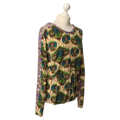 Marni for H&M Silk shirt with patterns
