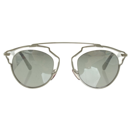 Christian Dior Silver colored sunglasses