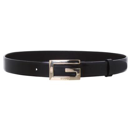 Gucci Leather belt with buckle