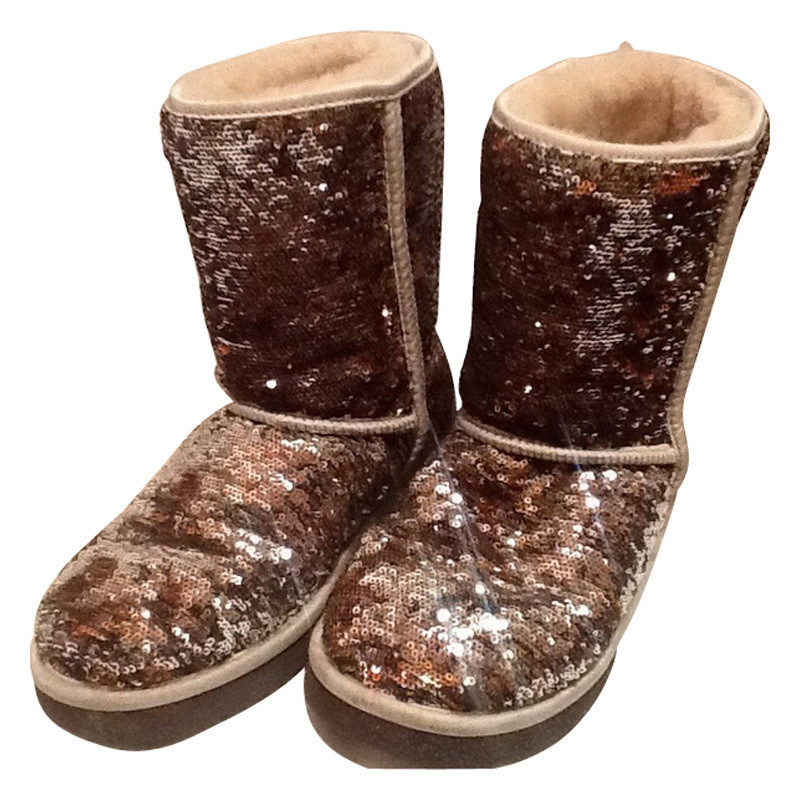 Ugg Boots with gold sequins