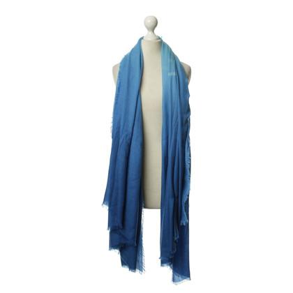 Louis Vuitton Sciarpa in tonalità di blu