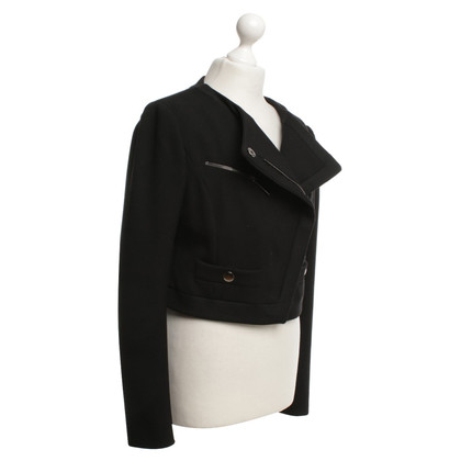 Philosophy di Alberta Ferretti Kort jasje in zwart