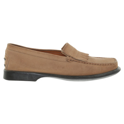 Tod's Loafers in ocher