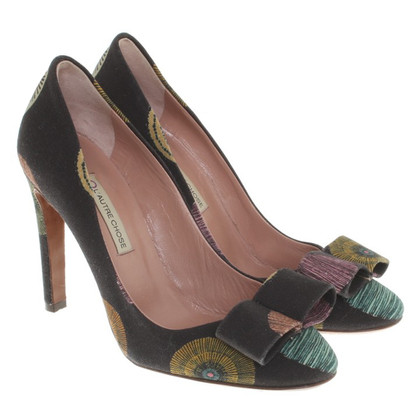 L'autre Chose pumps with pattern