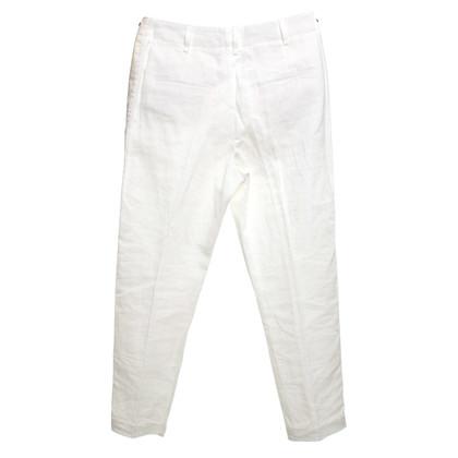 Brunello Cucinelli Pantaloni in bianco