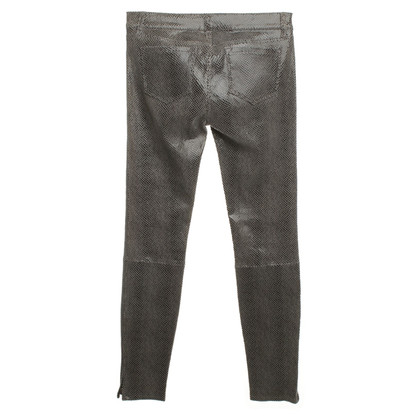 J Brand Pantaloni in pelle di agnello