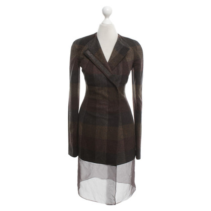 Jil Sander Coat with plaid pattern