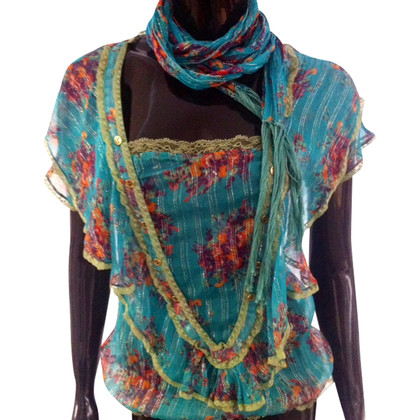 D&G Blouse with scarf