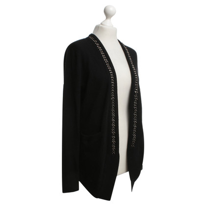 Allude Cardigan in Black