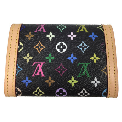 "Louis Vuitton ""Porte-Monnaie plat Monogram Multicolore"""