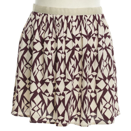 American Vintage skirt with pattern