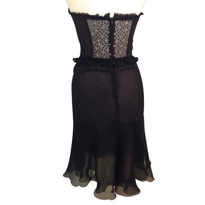 Blumarine bustier jurk