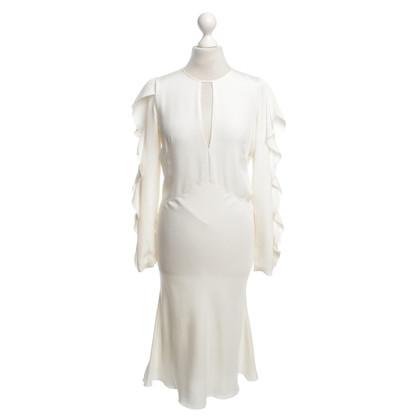Emilio Pucci zijden jurk in crème