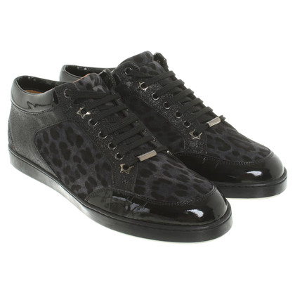 Jimmy Choo Leopard-patterned sneakers
