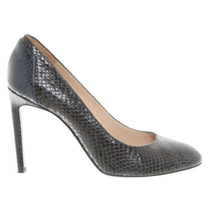 Hugo Boss pumps reptiel lederlook