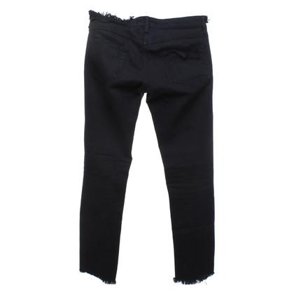 Isabel Marant Black jeans in destroyed look