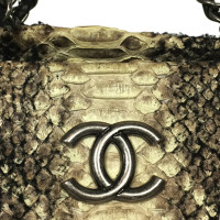 Chanel Shoulder bag made of snakeskin
