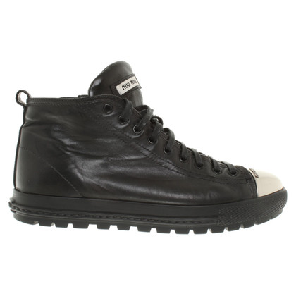 Miu Miu Sneaker in Black