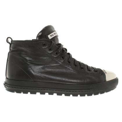 Miu Miu Sneaker in Schwarz