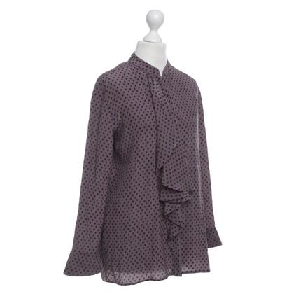 Etro Bluse mit Tupfen-Muster