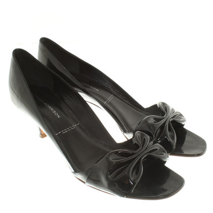 Sigerson Morrison Peeptoes patent leather
