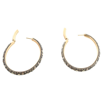 Pomellato Earrings with diamonds