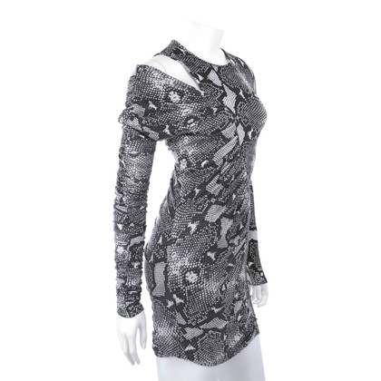 Balmain Dress with snake print
