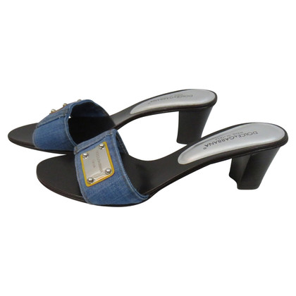 Dolce & Gabbana mulets