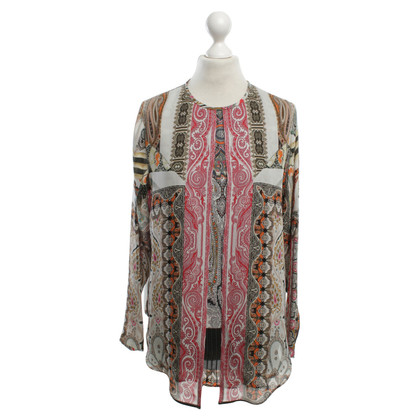 Etro Silk blouse with pattern