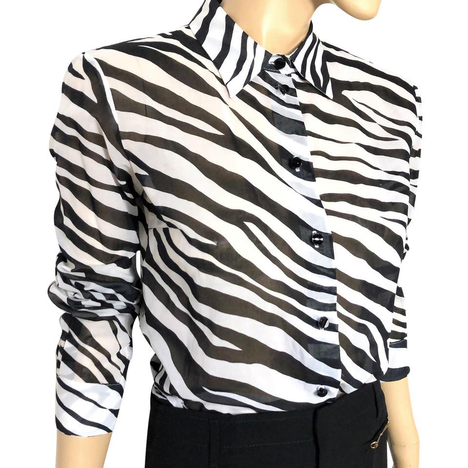 michael kors bluse mit zebra print second hand michael kors bluse mit zebra print gebraucht. Black Bedroom Furniture Sets. Home Design Ideas