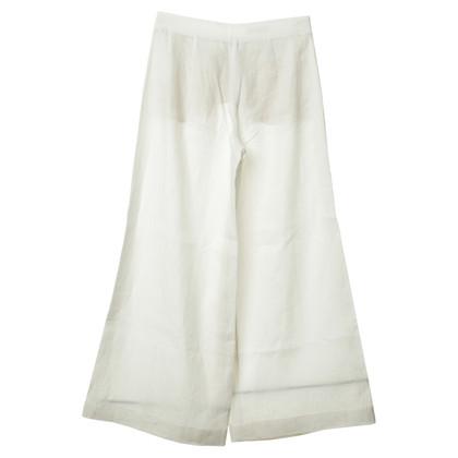 Loro Piana Culottes in Weiß