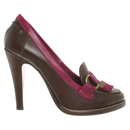 Etro pumps in dark brown
