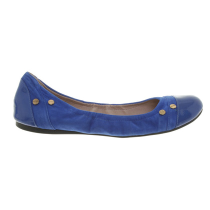 Vince Camuto Royal blue ballerinas