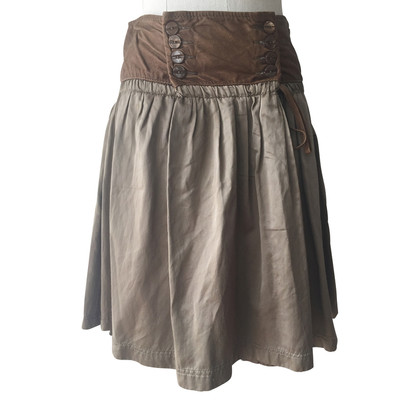 Patrizia Pepe Skirt with leather