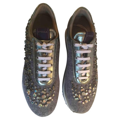 Le Silla  Sneakers with gemstone trim