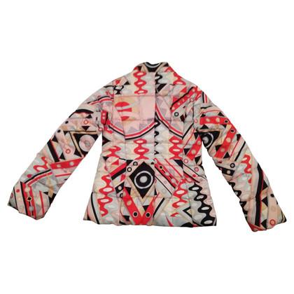 Emilio Pucci Gewatteerde jas met patroon