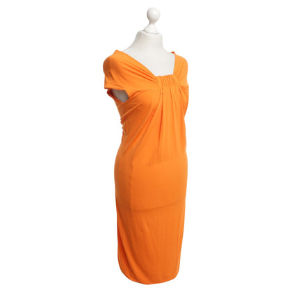 Max Mara Kleid in Orange