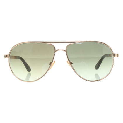 Tom Ford Occhiali da sole aviator color oro