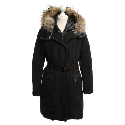 Moncler Down coat in black