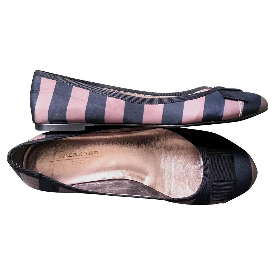 max mara ballerinas mit schleife second hand max mara. Black Bedroom Furniture Sets. Home Design Ideas