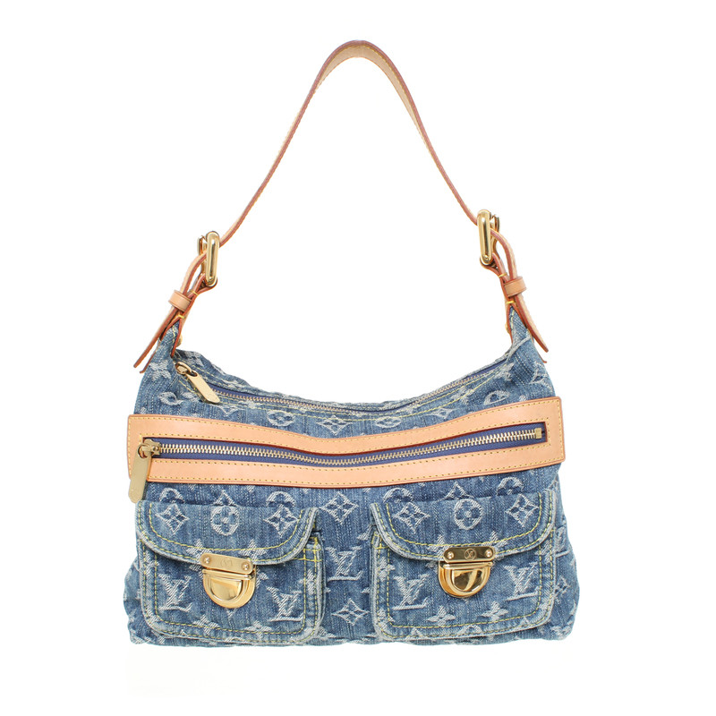 borsa denim louis vuitton